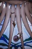 从de巴西利亚尖屋顶的里面看法 库存照片
