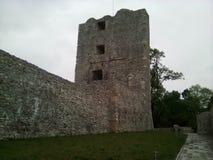 从Drobeta Turnu Severin的堡垒塔 免版税库存照片