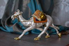 从egypet的骆驼箱子 免版税图库摄影