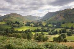 从Hallin的看法下跌, Cumbria 免版税库存照片