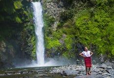 从Ifugao少数族裔的女孩在菲律宾 图库摄影