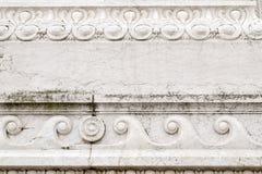 从Il Vittoriano的华丽外部的建筑细节 免版税图库摄影