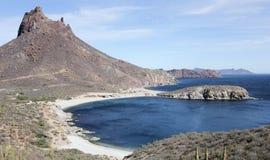 从Mirador监视,圣卡洛斯,地面蛇,墨西哥的一个风景看法 图库摄影