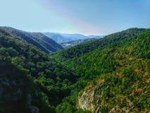 从moutain Miroc的风景 库存图片