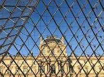 从npyramid里边被看见的天窗博物馆的细节 库存图片