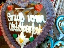 从Oktoberfest的问候 库存图片