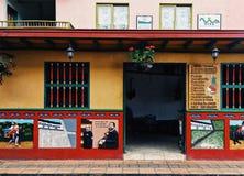 从Peñol镇的议院 库存照片