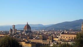 从Piazzale米开朗基罗佛罗伦萨的看法 影视素材