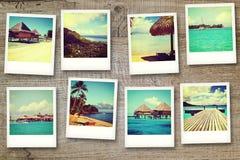 从Polinesia的明信片 免版税库存照片