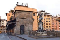 从Ponte Vecchio的看法在佛罗伦萨 库存照片