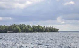 从Rockport的一千个海岛群岛风景在加拿大 免版税库存照片