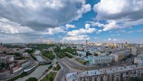 从timelapse上的哈尔科夫市 乌克兰 影视素材