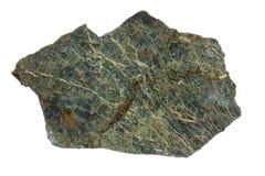 从Troodos蛇绿岩的蛇纹岩在塞浦路斯 免版税库存照片