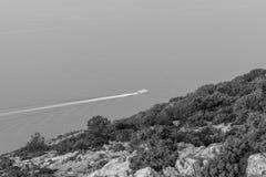 从Vidova Gora的看法 图库摄影