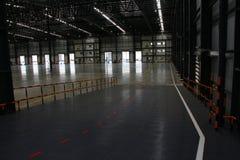 仓库是物品存贮的一个商业大厦 图库摄影
