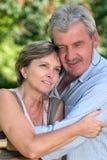 他们夫妇的五十年代 免版税库存图片