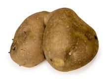 他的土豆用小锄头的二赖子靶垛朋友 图库摄影