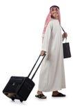 他的旅行的阿拉伯人 库存照片