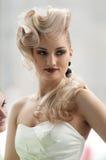 他的模型美发师 图库摄影