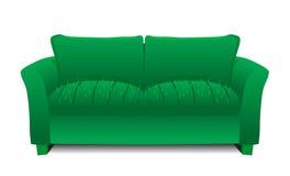 仙人掌沙发 向量例证