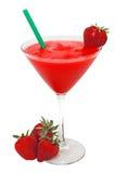 代基里酒查出草莓草莓 库存图片