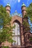 代特霍尔老校园耶鲁大学纽黑文康涅狄格 免版税库存图片