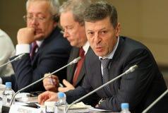 代理dmitry kozak部长先生头等rf 库存照片