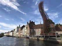 令人惊讶的布鲁日 比利时 欧洲 免版税库存照片