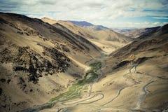 令人激动的喜马拉雅山 图库摄影