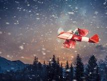 以后的圣诞老人 免版税库存照片