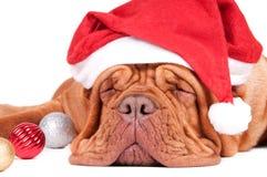 以后的圣诞老人 免版税图库摄影