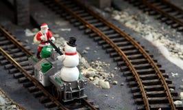 以后的圣诞老人 图库摄影