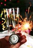以后的新年度 库存图片