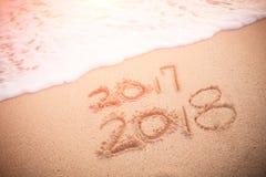 以后的概念新年度 库存照片