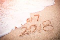 以后的概念新年度 库存图片