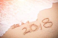 以后的概念新年度 免版税库存照片