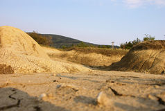 以后的沙漠 库存图片