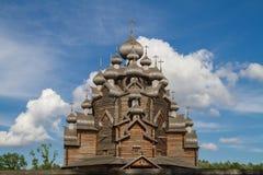 以圣洁的贞女的保护的名义教会 充分地木教会 古老建筑学杰作  库存照片