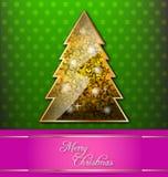 以圣诞节主题的装饰墙纸 免版税图库摄影