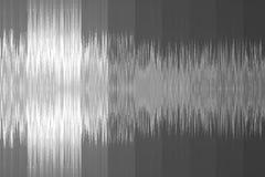 以声波的形式音乐背景 灰色颜色 库存图片