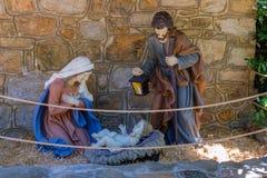 以弗所,圣母玛丽亚的房子 库存图片