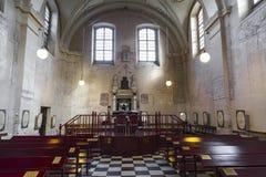 以撒犹太教堂在卡齐米日 库存照片
