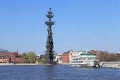 以纪念俄罗斯的300th周年的纪念碑 免版税库存图片