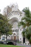 以色列人阿根廷会众的犹太教堂在布宜诺斯艾利斯,阿根廷 库存照片