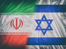以色列和伊朗 库存图片