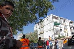 以色列导弹打击 免版税图库摄影