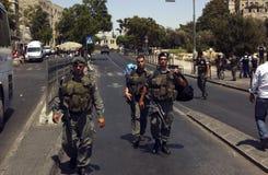 以色列战士 免版税库存照片