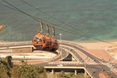 以色列海岸-迦密山 库存图片