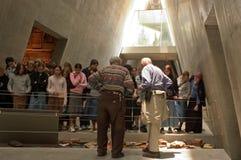 以色列犹太大屠杀纪念馆-浩劫历史记录博物馆在耶路撒冷以色列 免版税图库摄影