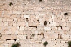 以色列耶路撒冷哭墙 免版税库存照片